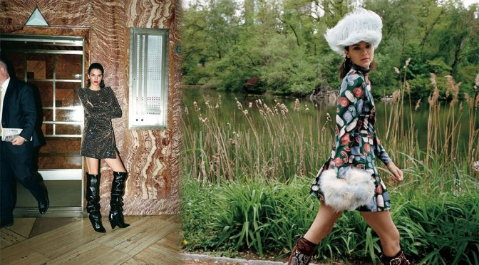 Kendall Jenner – Vogue Magazine Photoshoot (July 2017)
