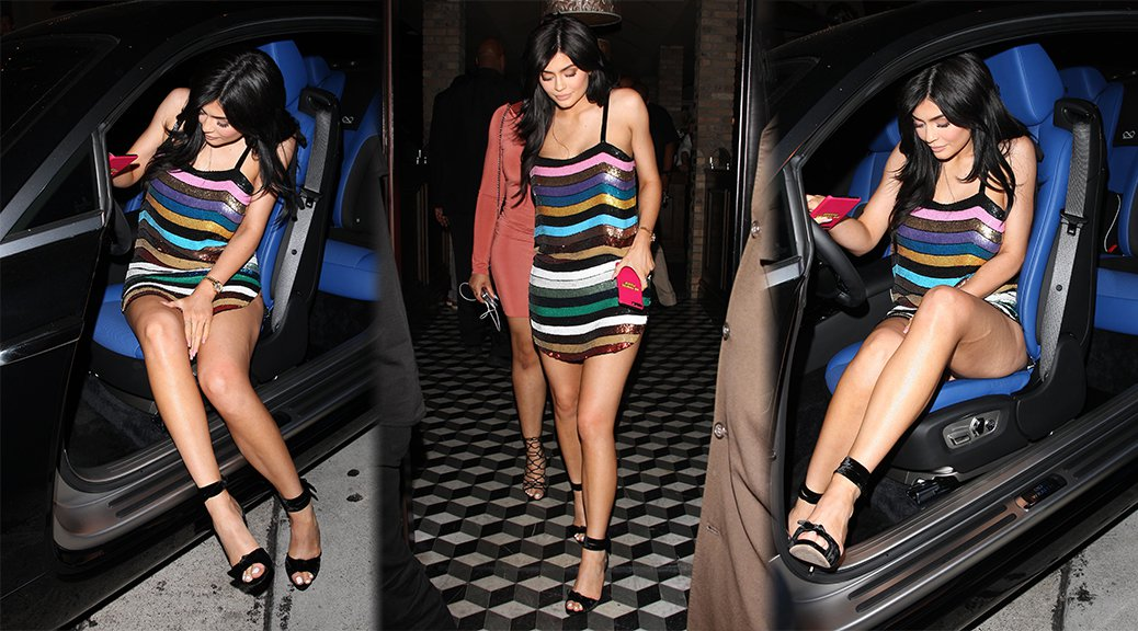Kylie Jenner - Leggy Candids in West Hollywood