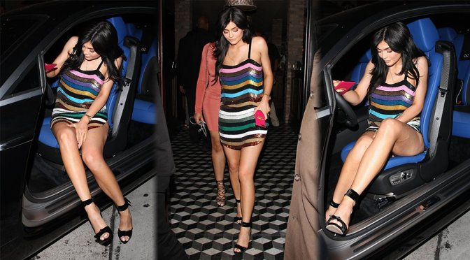Kylie Jenner – Leggy Candids in West Hollywood