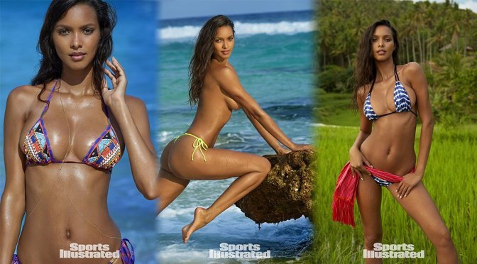 Lais Ribeiro – Sports Illustrated Swimsuit 2017 Photoshoot Outtakes