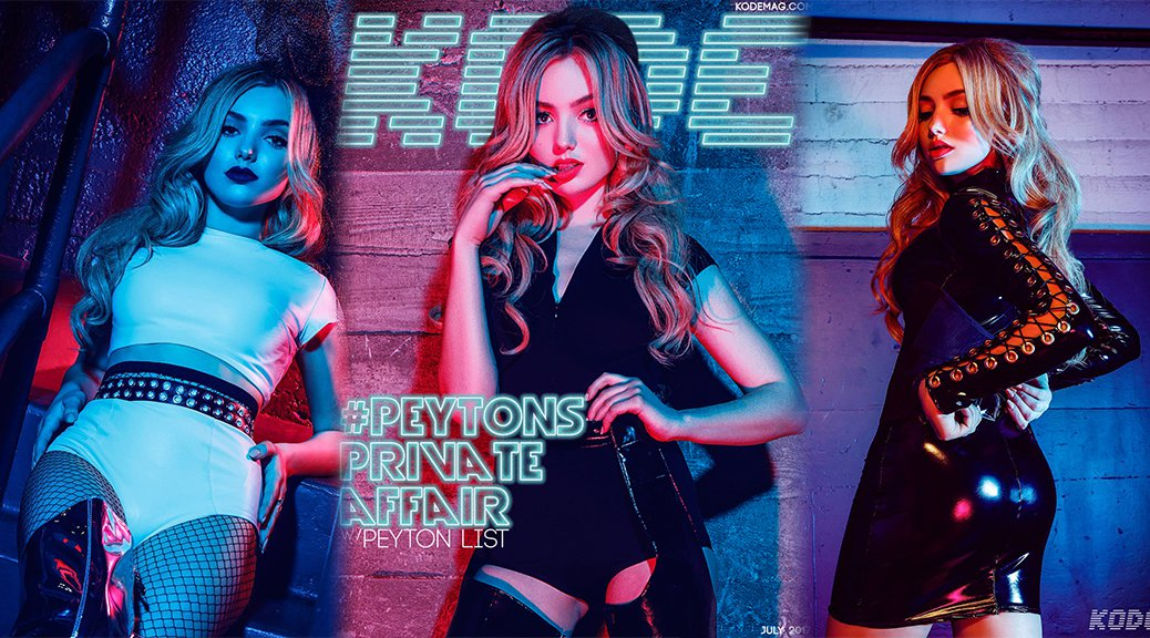 Peyton Roi List - Kode Magazine Photoshoot (July 2017)