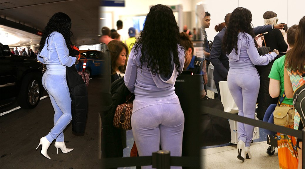 Rihanna - Candids at LAX Airport in Los Angeles