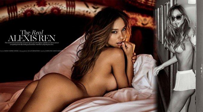 Alexis Ren – Maxim Magazine Naked Photoshoot (July 2017)
