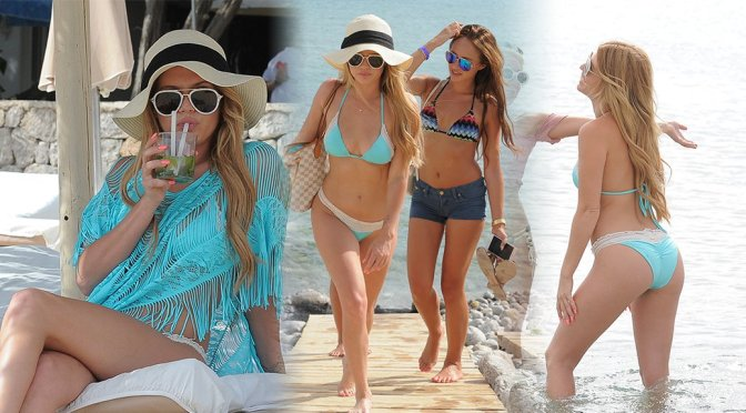 Chanel West Coast – Bikini Candids in Ibiza