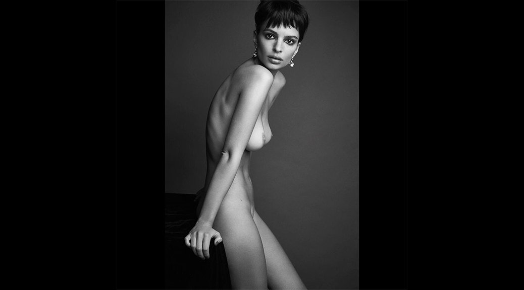 Emily Ratajkowski - Love Magazine Topless Photoshoot
