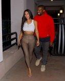 Kim Kardashian Braless Boobs