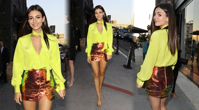 Victoria Justice – Highlight Room Grand Opening in Hollywood
