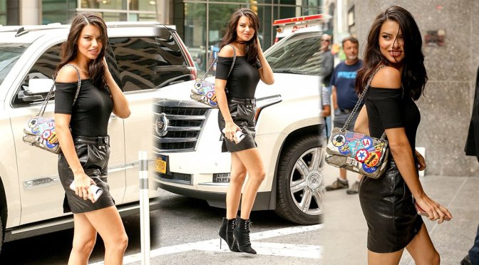 Adriana Lima – Candids in New York