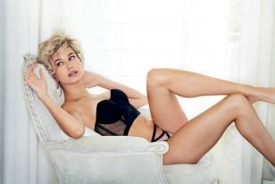 Hailey Baldwin Lingerie Maxim
