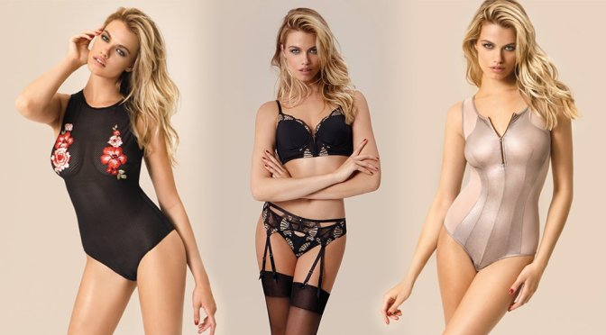 Hailey Clauson – Yamamay Lingerie Photoshoot (Fall 2017)
