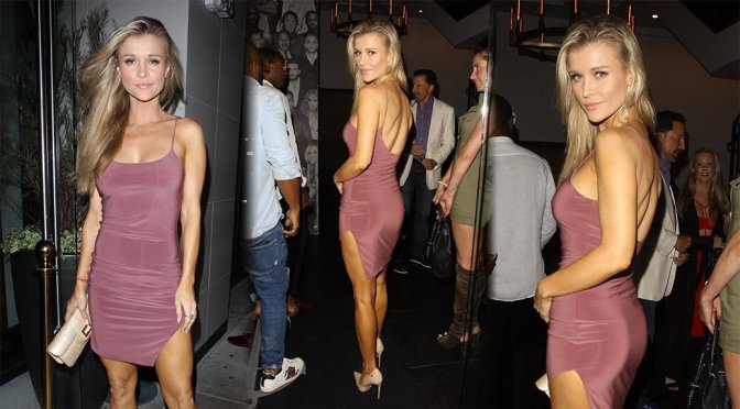 Joanna Krupa at Craig's in West Hollywood