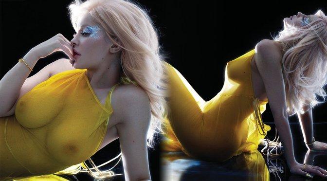 Kylie Jenner – V Magazine Braless See-Through Photoshoot (September 2017)