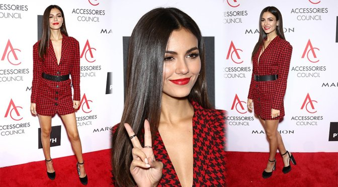 Victoria Justice – 21st Annual Ace Awards in New York