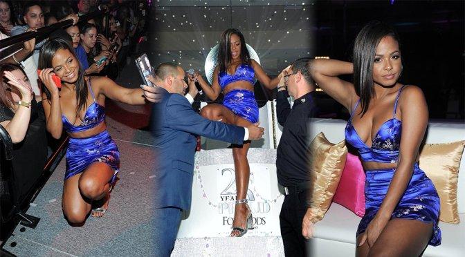Christina Milian – Foxwoods Resort Casino 25th Anniversary Gala