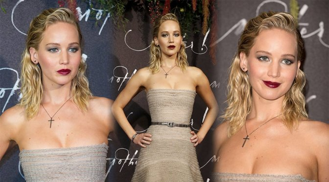 "Jennifer Lawrence – ""Mother!"" Premiere in Paris"