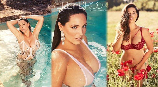 Kelly Brook – 2018 Calendar Photoshoot Preview