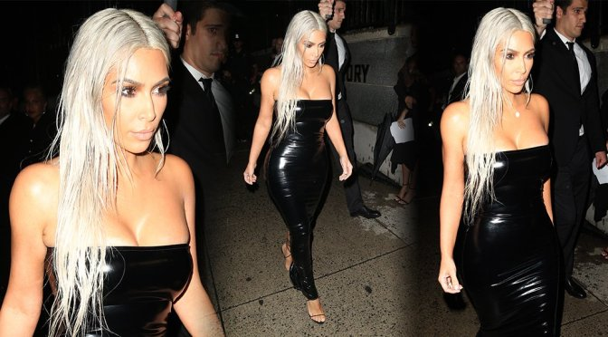 Kim Kardashian – Tom Ford SS18 Fashion Show in New York