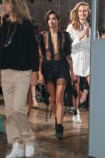 Sara Sampaio Catwalk Nipples