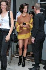 Sara Sampaio Catwalk Nipples