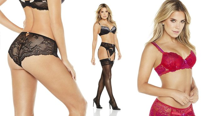 "Sylvie Meis – ""Sylvie Flirty Lingerie"" Collection 2017"