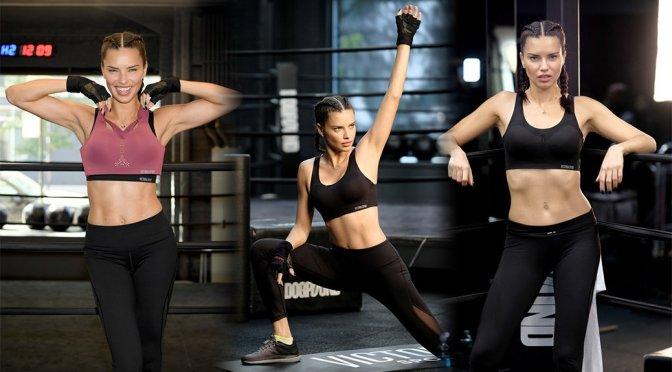 Adriana Lima – Train Like an Angel Event in New York