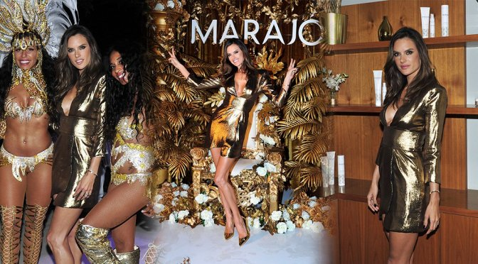 Alessandra Ambrosio – Marajo Haircare Launch Party in Los Angeles