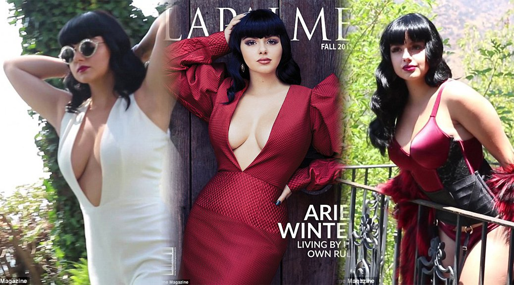 Ariel Winter - LaPalme Magazine Photoshoot (Fall 2017)