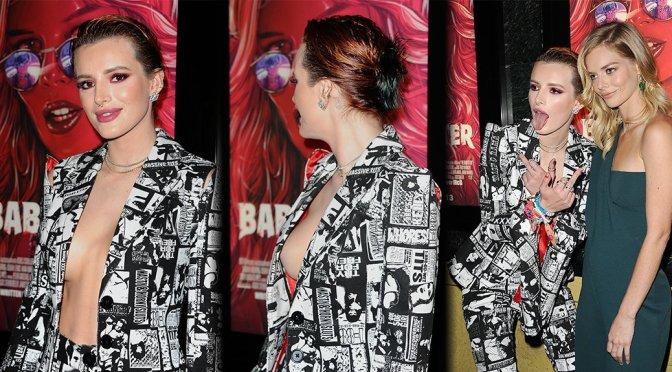 "Bella Thorne – ""The Babysitter"" Premiere in Los Angeles"