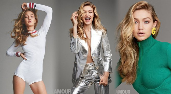 Gigi Hadid – Glamour Magazine Photoshoot (December 2017)