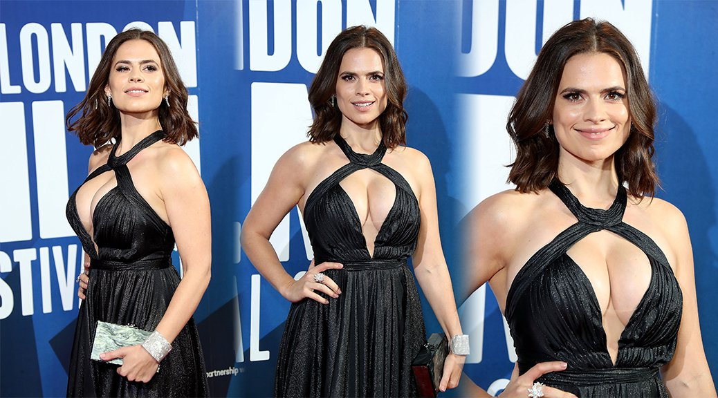 Hayley Atwell - BFI London Film Festival Awards in London