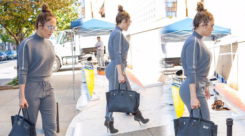 Jennifer Lopez - Candids in New York