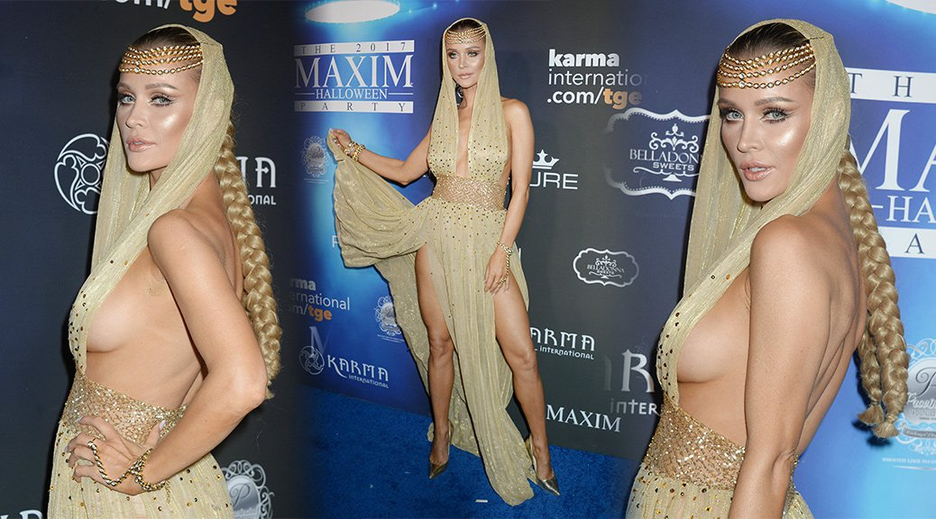 Joanna Krupa - 2017 Maxim Halloween Party in Los Angeles