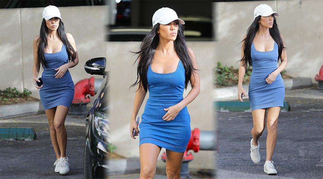 Kourtney Kardashian Fit Peyton Roi List Anthem Teenage