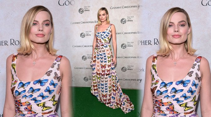 "Margot Robbie – ""Goodbye Christopher Robin"" Premiere in New York"