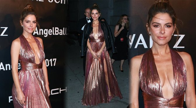 Maria Menounos – Gabrielle's Angel Foundation's Angel Ball 2017