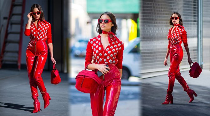 Olivia Culpo – Photoshoot in New York