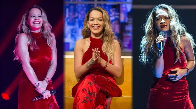 "Rita Ora on ""The Jonathan Ross Show"" in London"