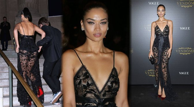 Shanina Shaik – Vogue x Irving Penn Party in Paris