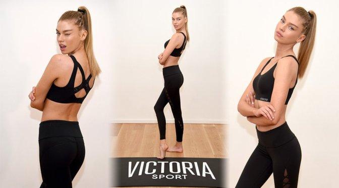 Stella Maxwell – Train Like a Victoria's Secret Angel Event