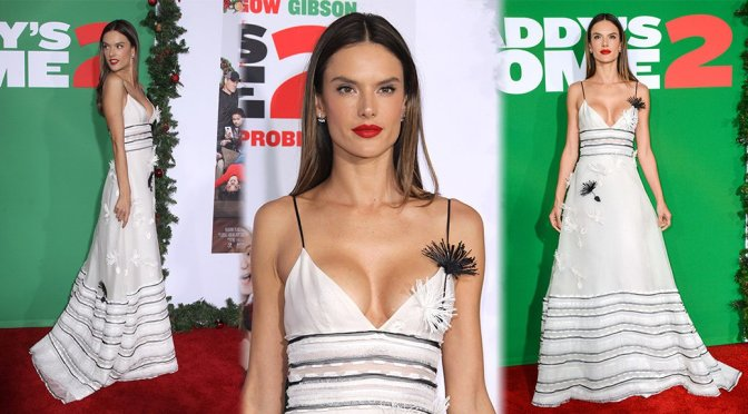 """Alessandra Ambrosio – """"Daddy's Home 2"""" Premiere in Westwood"""