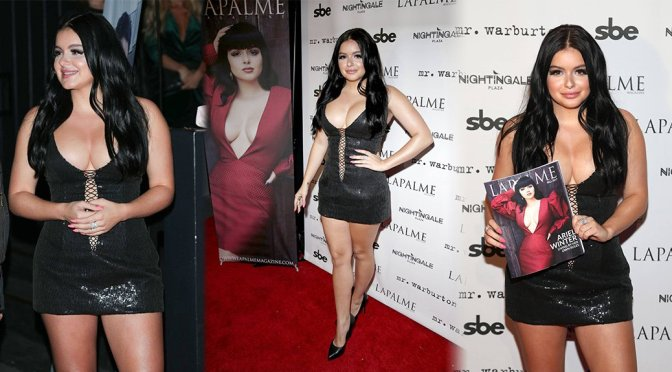 Ariel Winter – LaPalme Magazine Vover Party in Los Angeles