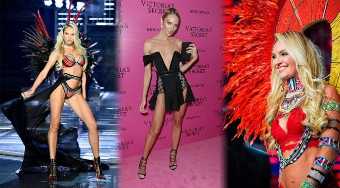 Candice Swanepoel – 2017 Victoria's Secret Fashion Show in Shanghai