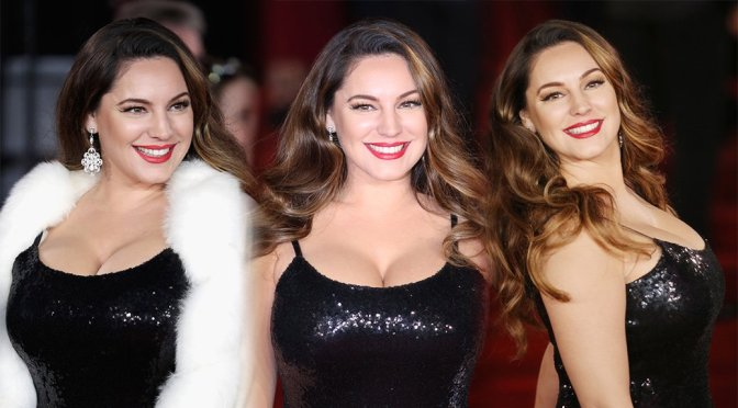 """Kelly Brook – """"Murder on the Orient Express"""" Premiere in London"""