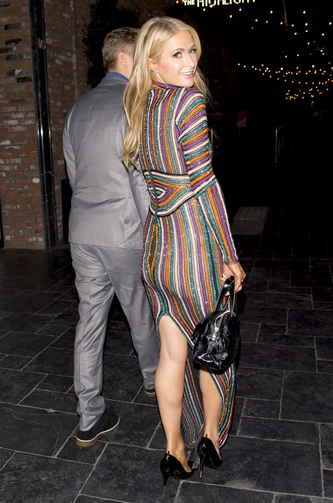 Paris Hilton - Braless See-Through Candids in Los Angeles