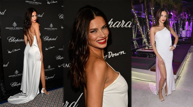 Adriana Lima – Creatures of the Night Late-Night Soiree in Miami
