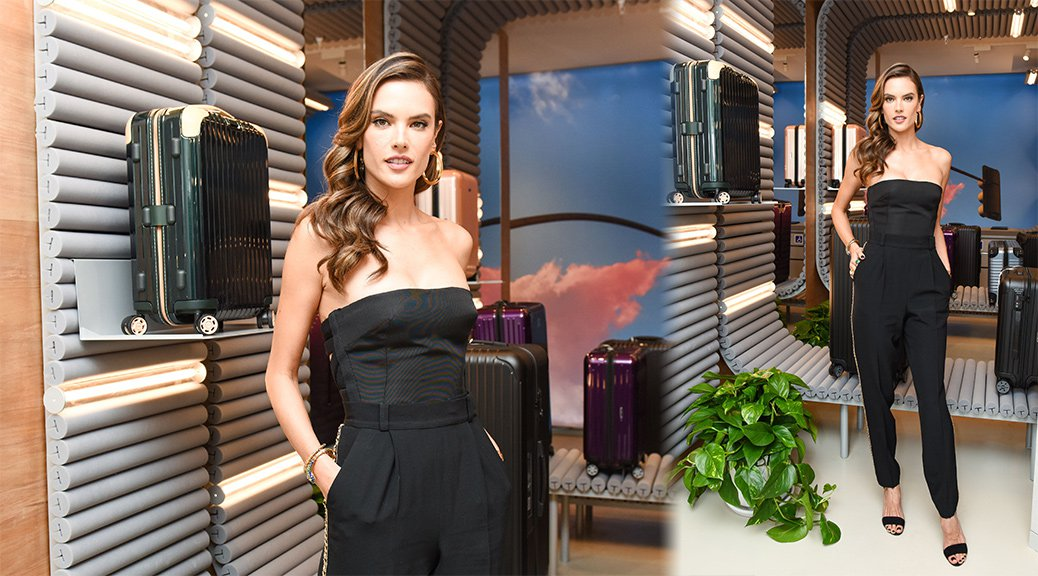 Alessandra Ambrosio - Rimowa x Alexandre Arnault Pop-Up Event in Los Angeles