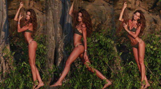 Izabel Goulart – Bikini Photoshoot Candids in Fernando De Noronha