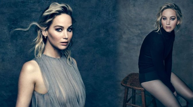 Jennifer Lawrence – Hollywood Reporter Magazine Photoshoot (December 2017)
