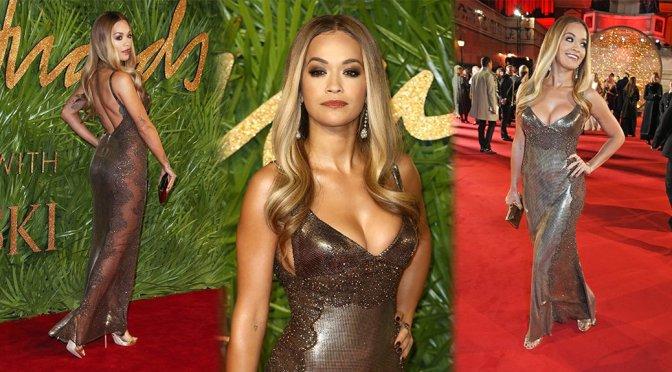 Rita Ora Sexy Boobs