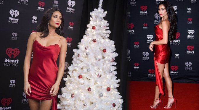 Shay Mitchell – iHeart Jingle Ball North in Toronto